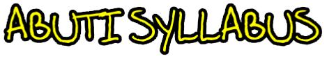 Abuti Syllabus